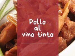 receta de pollo al vino tinto