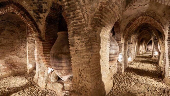 museo del vino mentrida cuevas bodegas